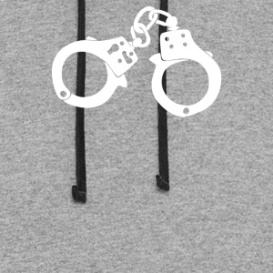 Handcuffs Fan Car Truck - Colorblock Hoodie