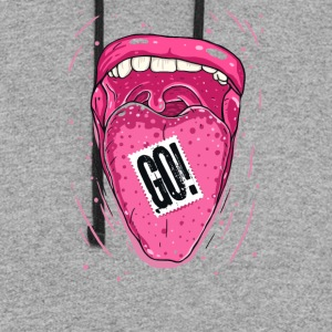 Tongue GO Cyber System - Colorblock Hoodie