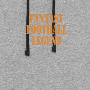 fantasy football legend - Colorblock Hoodie