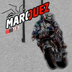 MARC MARQUEZ IN ACTION - Colorblock Hoodie