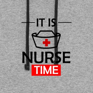 It's Nurse Time - Colorblock Hoodie