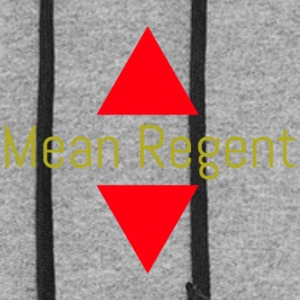 THE REAL MEAN REGENT MERCH - Colorblock Hoodie