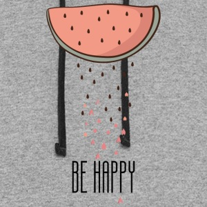 be happy - Colorblock Hoodie