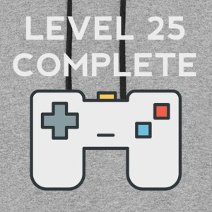 Level 25 Complete 25th Birthday - Colorblock Hoodie