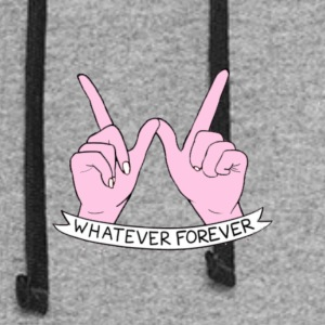 Whatever Forever - Colorblock Hoodie