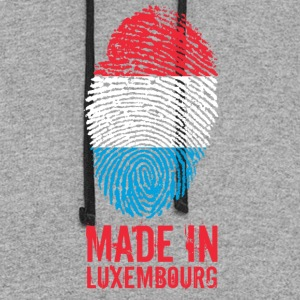 Made in Luxembourg - Colorblock Hoodie