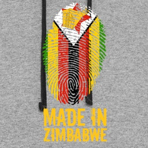 Made In Zimbabwe / Great Zimbabwe - Colorblock Hoodie