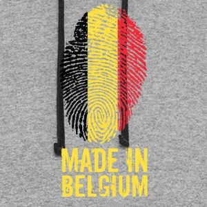 Made In Belgium / Belgien / Belgique / België - Colorblock Hoodie