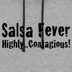 Salsa Fever Highly Contagious! - Colorblock Hoodie