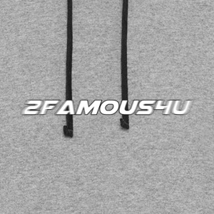 2 famous 4 you - Colorblock Hoodie