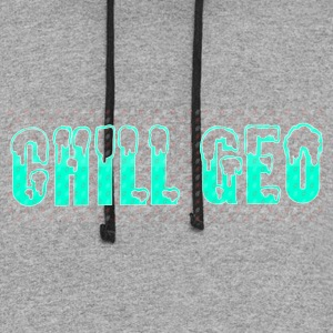 Chill. Geo Merchandise - Colorblock Hoodie