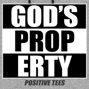 God's Property - Colorblock Hoodie