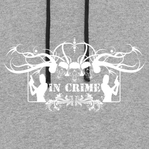 in Crime - Colorblock Hoodie