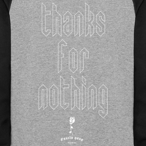 THANKS FOR NOTHING - Colorblock Hoodie