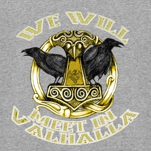 We will meet in Valhalla - Colorblock Hoodie