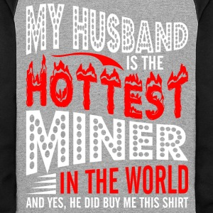 My Husband Is The Hottest Miner - Colorblock Hoodie