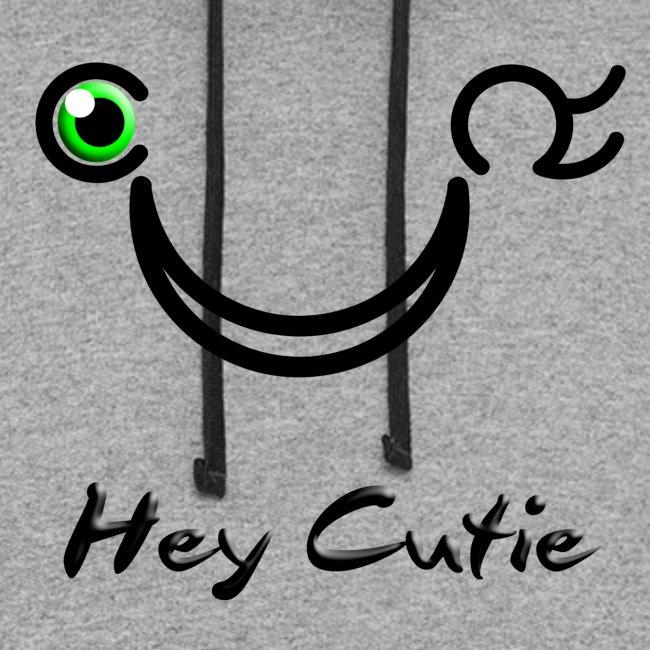Hey Cutie Green Eye Wink
