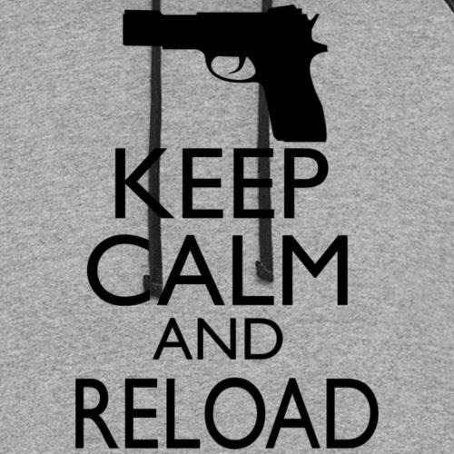 Keep Calm & Reload - Unisex Colorblock Hoodie