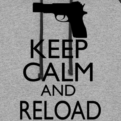 Keep Calm & Reload - Unisex Colorblock Hoodie