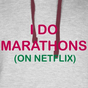 I Do Marathons - Colorblock Hoodie