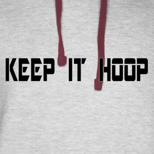 Keep It Hoop - Colorblock Hoodie