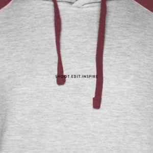 Shoot. Edit. Inspire - Colorblock Hoodie