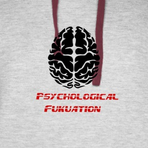 Psychological fukuation - Colorblock Hoodie
