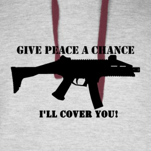 Scorpion Evo - Give Peace a Chance - Colorblock Hoodie