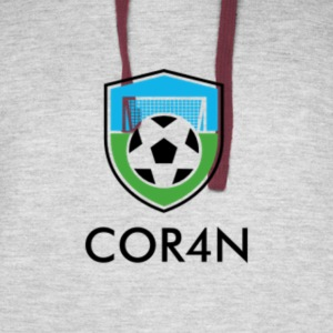 Football/Soccer Design - Colorblock Hoodie