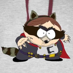 The Coon - South Park - Colorblock Hoodie