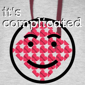 It's Complicated - Colorblock Hoodie
