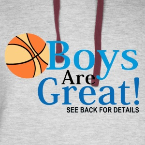 Every Girls Basketball Team Needs a Waterboy T Shi - Colorblock Hoodie