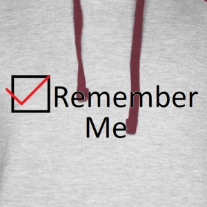 Remember Me - Colorblock Hoodie