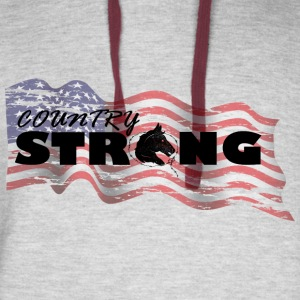 USA Country Strong - Colorblock Hoodie