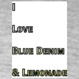 Love Blue Denim and Lemonade Tag Patch Brand - Colorblock Hoodie