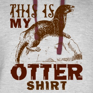 This Is My Otter Shirt - Colorblock Hoodie