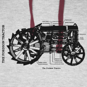 The Fordson Tractor - Colorblock Hoodie