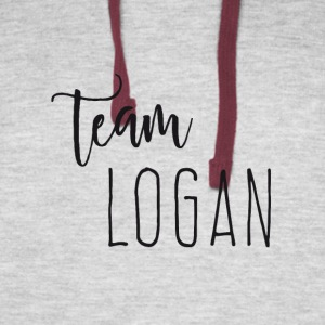 Team Logan - Colorblock Hoodie