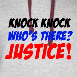 Who'sThere? Justice! - Colorblock Hoodie