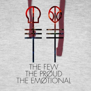 The Few - The Proud - The Emotional - Colorblock Hoodie