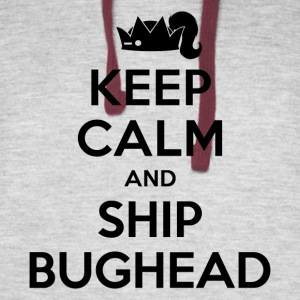 Riverdale - Keep Calm And Ship Bughead - Colorblock Hoodie