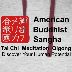 American Buddhist Sangha and Zen Do USA - Colorblock Hoodie