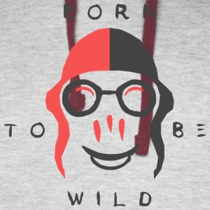 Born to be Wild - Colorblock Hoodie