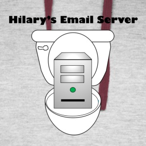 Hilary's Email Server - Colorblock Hoodie