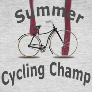 Summer Cycling Champ - Colorblock Hoodie