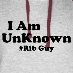 I Am The Rib Guy - Colorblock Hoodie