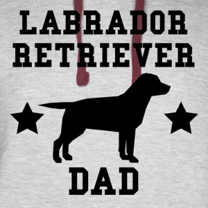 Labrador Retriever Dad - Colorblock Hoodie