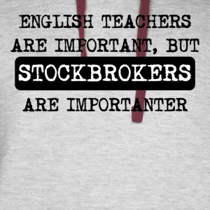 Stockbrokers Are Importanter - Colorblock Hoodie