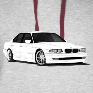 BMW e38 - Colorblock Hoodie