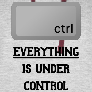 Everything is under Ctrl T Shirt - Colorblock Hoodie